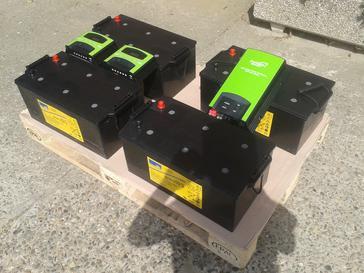 Batterij systeem van 1500 Wp