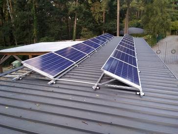18 panelen AXITEC 275 WP met Solar Edge te Aarschot