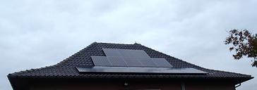 18 panelen SUNPOWER 345 WP met Solar Edge te Lanaken