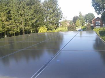 30 panelen Solar Frontier 170 Wp