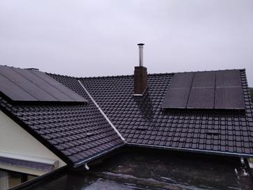 14 panelen AXITEC 300 WP met Solar Edge te Sint-Lambrechts-Herk