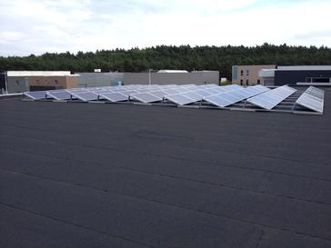 18.000 Wp aan zonnepanelen