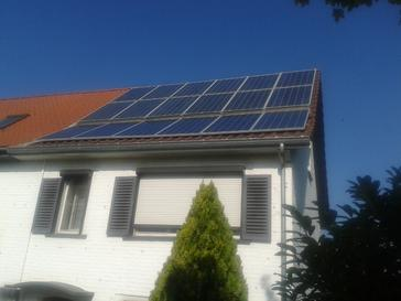 Uitbreiding bestaande zonne-installatie