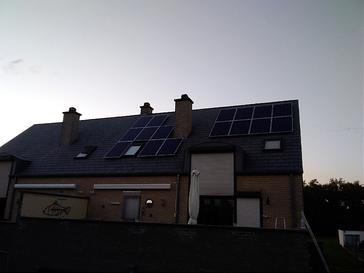 16 panelen AXITEC 275 WP met Solar Edge te Hamont