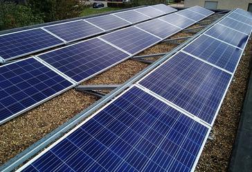 21 panelen VIESSMANN 275 WP met Solar Edge te Dilsen-Stokkem
