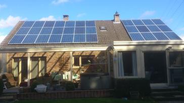 33 zonnepanelen te Munsterbilzen - Limburg