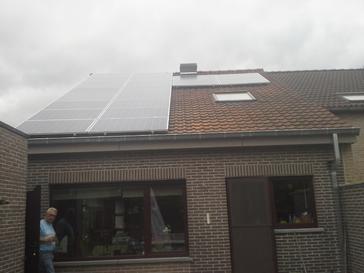 20 panelen te Drongen - Oost Vlaanderen