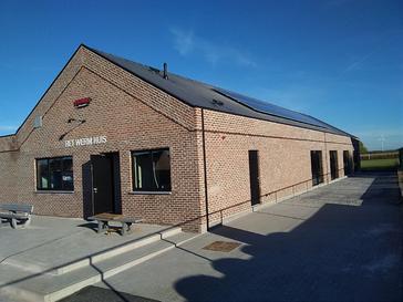 Parochiezaal 'Het Werm Huis' koos G&D Energy voor de installatie van 32 panelen VIESSMANN 275 WP