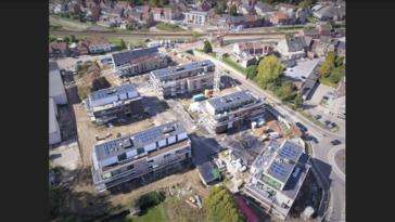 Voor woonproject Belisia, gelegen te Bilzen, installeerden we 134 panelen AXITEC  270 WP