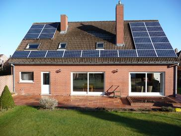 25 panelen AXITEX met SolarEdge 265 Wp