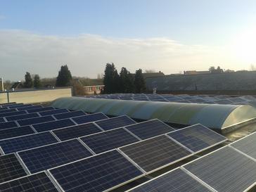 24.500 Wp zonnepanelen te Bree