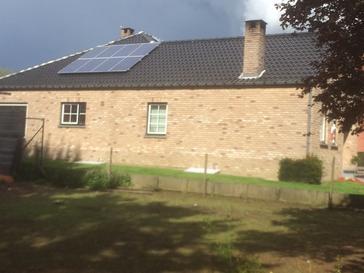 21 panelen Viessmann 260 Wp te Nieuwerkerken