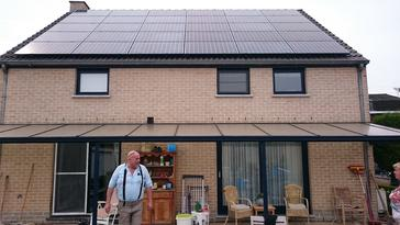 30 panelen Sunpower 327 Wp te Tongeren