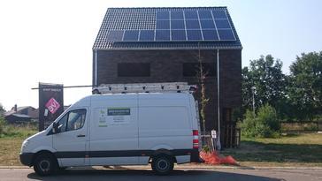 18 panelen Viessmann 255 Wp te Hasselt