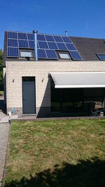 18 panelen AXITEC met SolarEdge te Olen