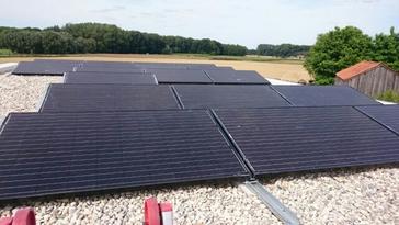 18 panelen Viessmann 275 Wp te Kampenhout