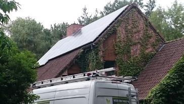 30 panelen AXITEC 265 Wp met SolarEdge