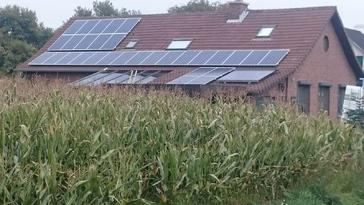 30 panelen AXITEC 265 Wp met SolarEdge te Bree
