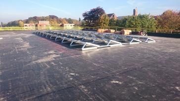 40 panelen AXITEC 260 Wp op basisschool te Wetteren