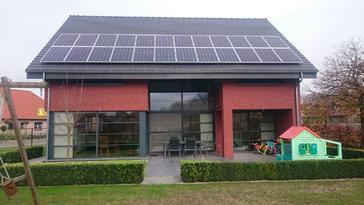 24 panelen Viessmann 260 Wp te Overpelt