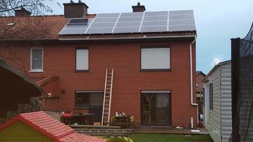 19 panelen AXITEC 260 Wp te Diepenbeek