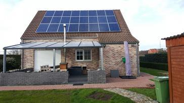 24 panelen axitec 260 Wp te Diepenbeek