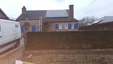 23 panelen AXITEC 265 Wp met SolarEdge te St-Truiden