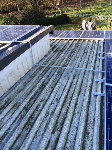 16 panelen AXITEC 265 Wp met SolarEdge te Riemst