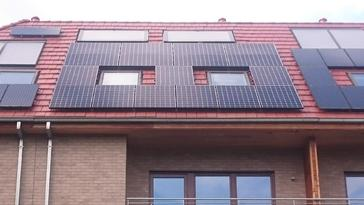 17 panelen sunpower 327 wp te evere