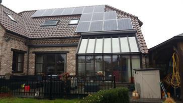 14 panelen AXITEC 260 Wp te Diepenbeek