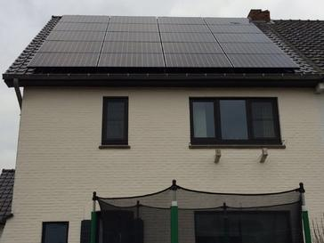 20 panelen Sunpower 327wp  full black te Hasselt
