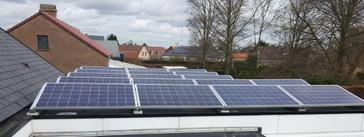 17 panelen axitec 265 wp solar edge te kuringen