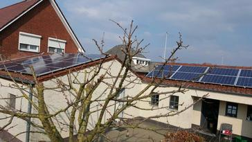 20 panelen axitec 265 wp solar edge te bree