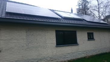 16 panelen axitec 265 wp solar edge te tervuren