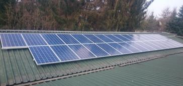 31 panelen axitec 265 wp solar edge te hamont