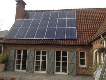 20 panelen axitec 265 wp solar edge te zutendaal