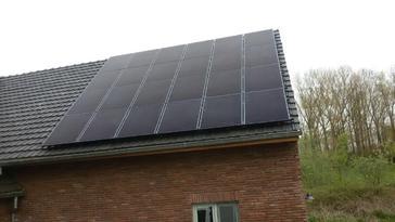 24 panelen solar frontier 170 wp te herk-de-stad