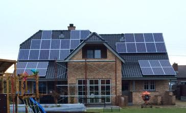 46 panelen axitec 265 wp solar edge te hechtel-eksel