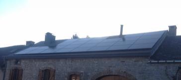 27 panelen sunpower 327 wp solar edge te erezee