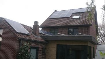 25 panelen axitec 265 wp solar edge te meeuwen