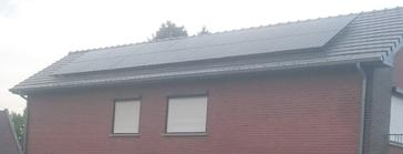 14 panelen sunpower 327 wp  full black te zonhoven