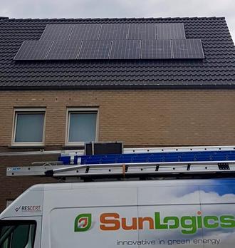 Sunpower Maxeon2 zonnepanelen in Leopoldsburg