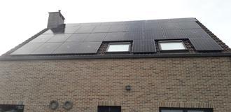 Sunpower Zonnepanelen x22-360 Black Frame in Berg - Sunlogics