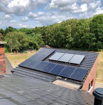 Sunpower zonnepanelen Maxeon2 in Maaseik - Sunlogics