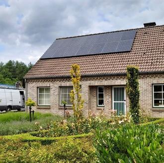 Sunpower Maxeon2 zonnepanelen in Molenbeersel