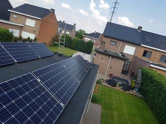 12 Sunpower zonnepanelen